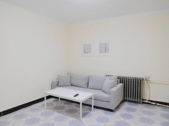 顺义城区两室一厅,交通方便,离机场20分钟,靠近大公园,新装修房屋 - 顺义 - Appartement