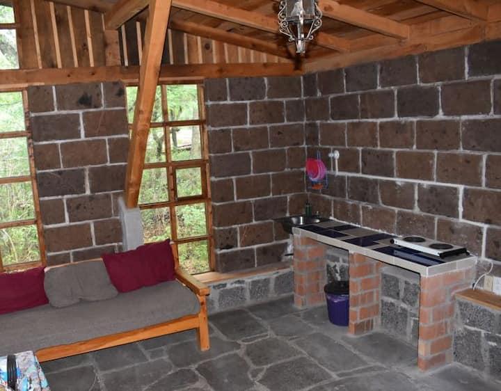 Cabaña en Tlalpujahua