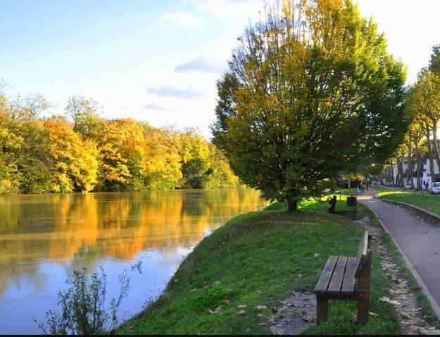 Au calme, centre ville, bords de Marne, 20mn Paris - Saint-Maur-des-Fossés - บ้าน