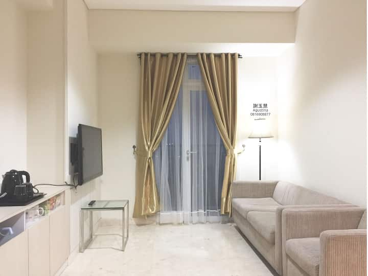 2bed 2BR 37FL Puri Orchard,fast access to airport