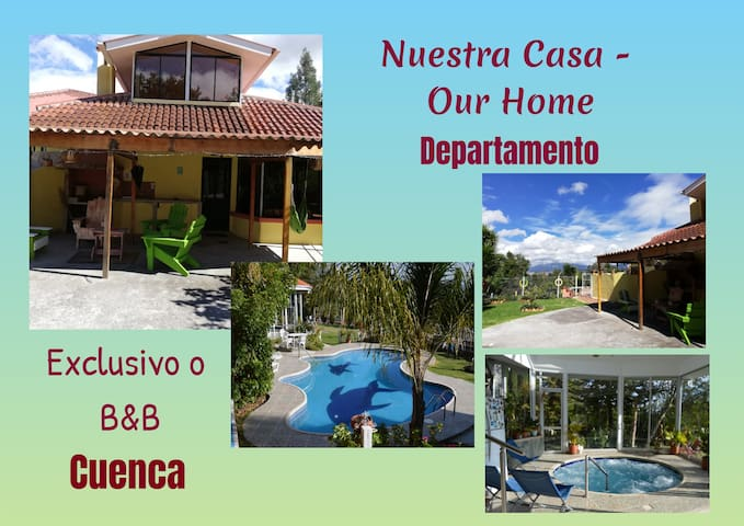 NUESTRA CASA-OUR HOME  (B&B) Departamento -by A2CC