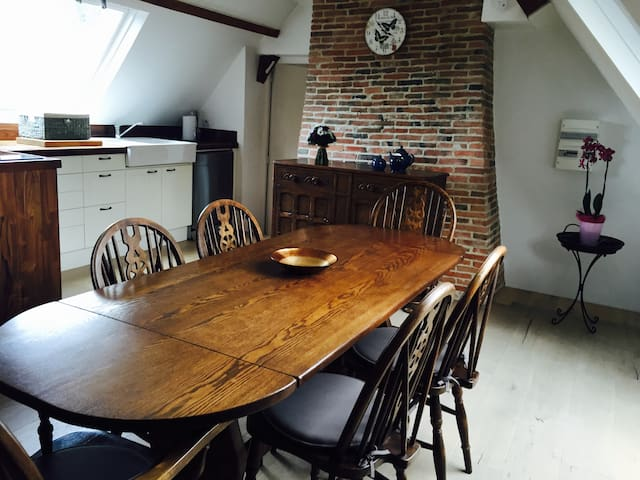 Beautiful location on a Normandy Stud farm - Hodeng-Hodenger - Apartment
