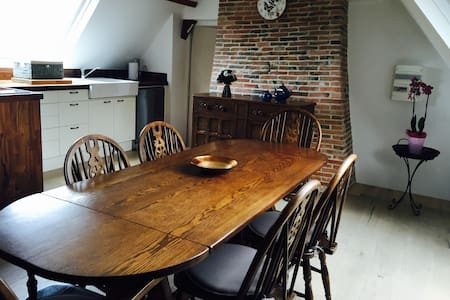 Beautiful location on a Normandy Stud farm - Hodeng-Hodenger - Apartamento