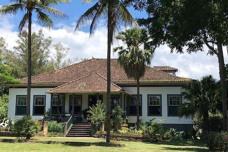 Bananal Suíte na Histórica Fazenda dos Coqueiros.