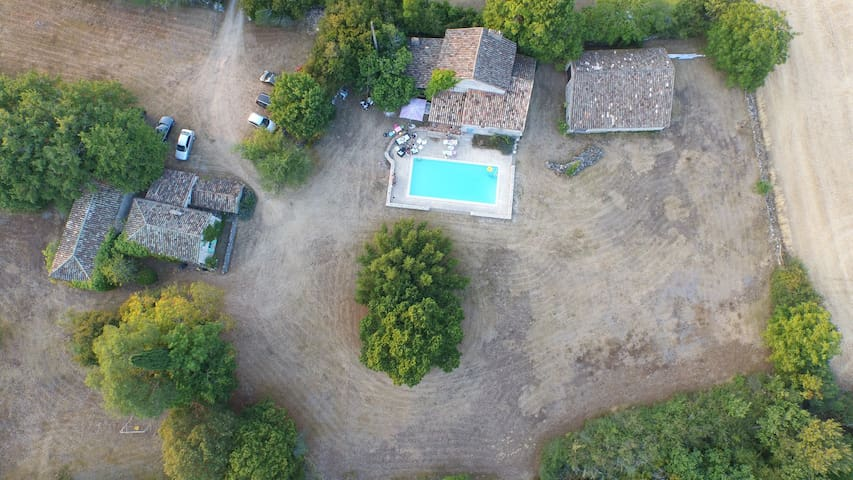 2 maisons de charme en campagne - Lauzerte