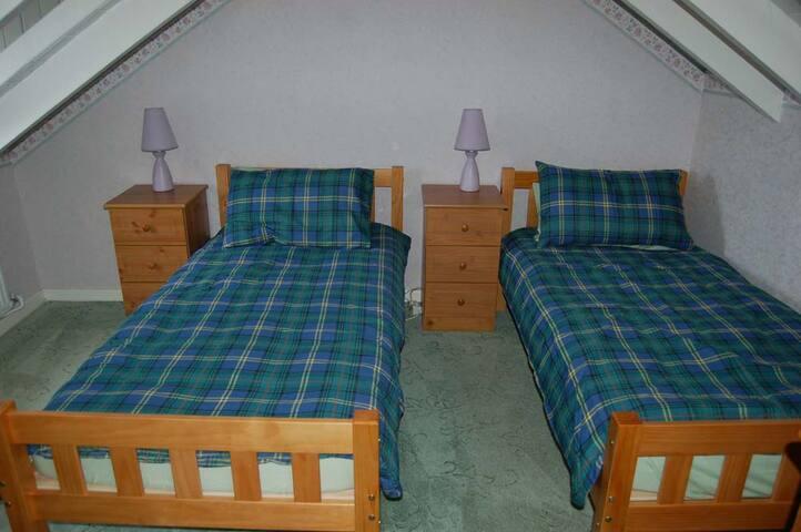 Upstairs twin