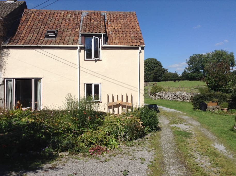Copse Cottage is next to our home. It is a self contained annexe.