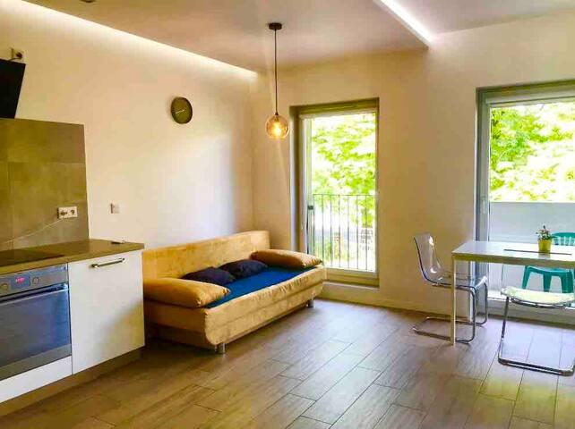 Beautiful Apartment Kurkowa 700m do Rynku (F. VAT)