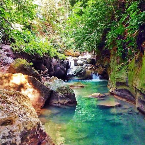 going to dao waterfalls