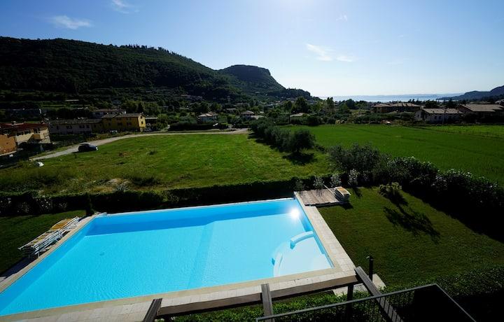 GardaGulf EdenGarden-panorama,swimmingpool,garden