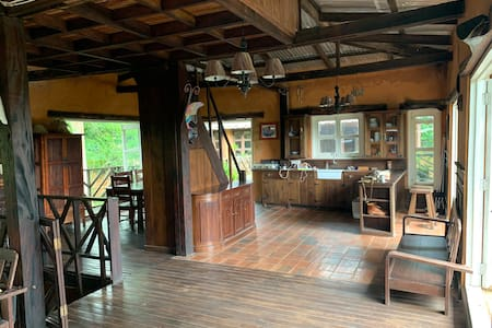 Rustic Rain Forest Retreat in the Aburi Mountains