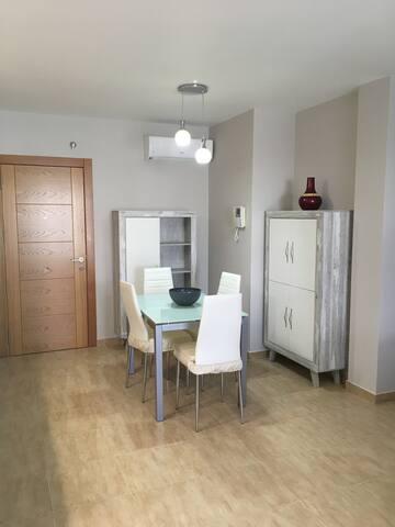 Apartamento nuevo en pleno centro.