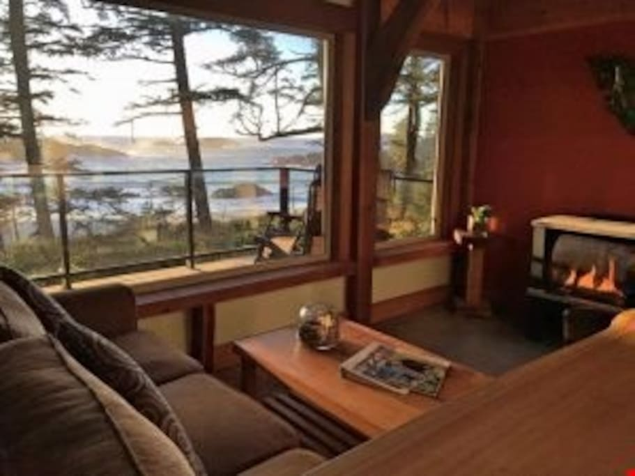 Unwind after a day exploring Ucluelet