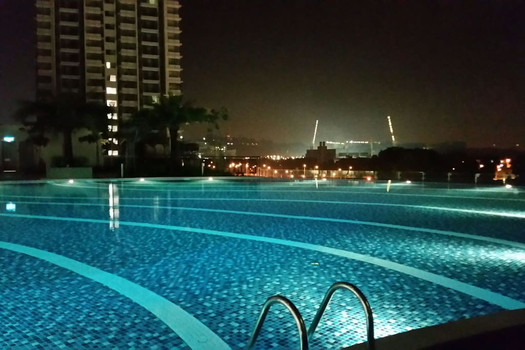 Night swim will be awesome