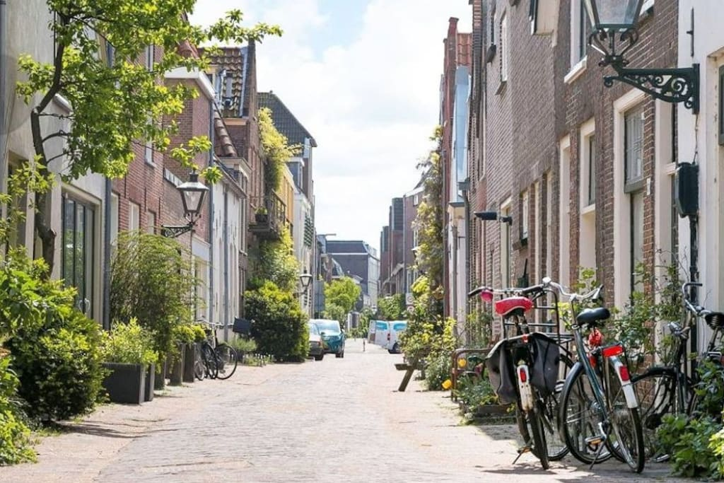 One of the most charming and calm streets in Leiden