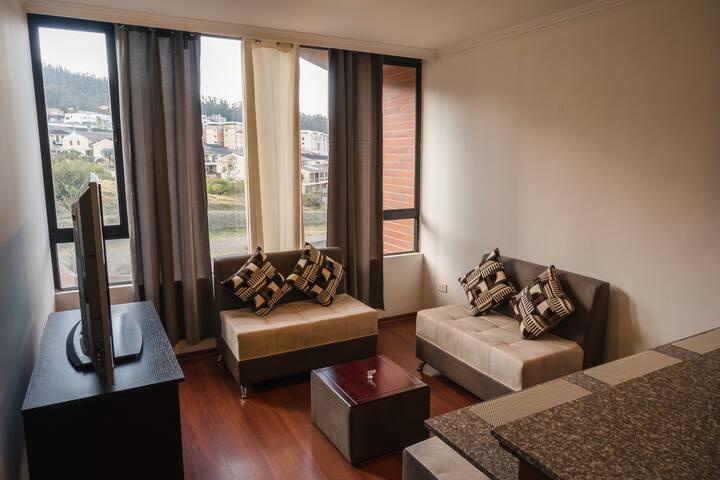 Hermosa Suite en el Centro Norte de Quito