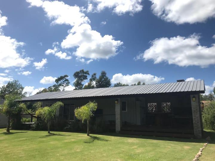 Cabaña nueva, con gran Galería