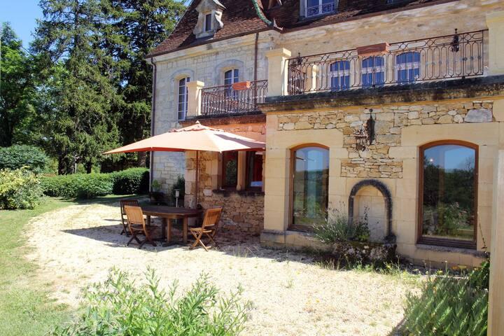 Le CÈDRE, havre de paix en Dordogne - Saint-Cybranet - Huis