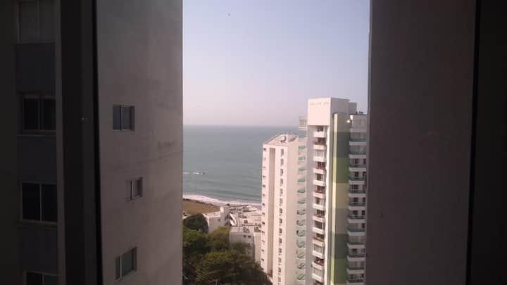 Cartagena Laguito Apto 1 hab. para 4 personas