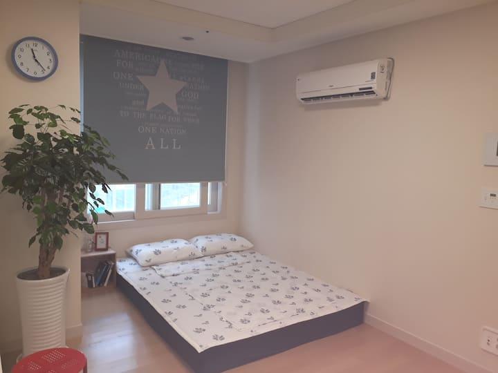 *방역완료*NEW♡신축아파트/깨끗/안전/조용 #무료주차# 부산시청옆, 서면역 5분(지하철)