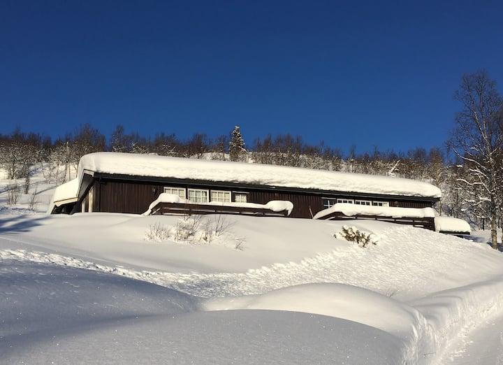 Koselig hytte på Lykkja i Hemsedal
