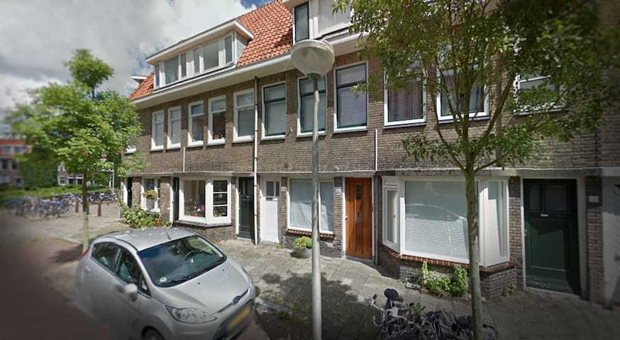 Perfectly located room (26m2+wifi+bike) - Delft - House