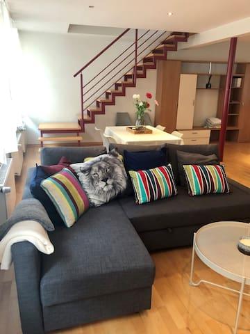 Appartement DUPLEX, plein centre ville