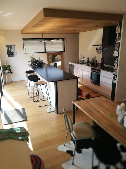 Spacious kitchen with a walk in pantry