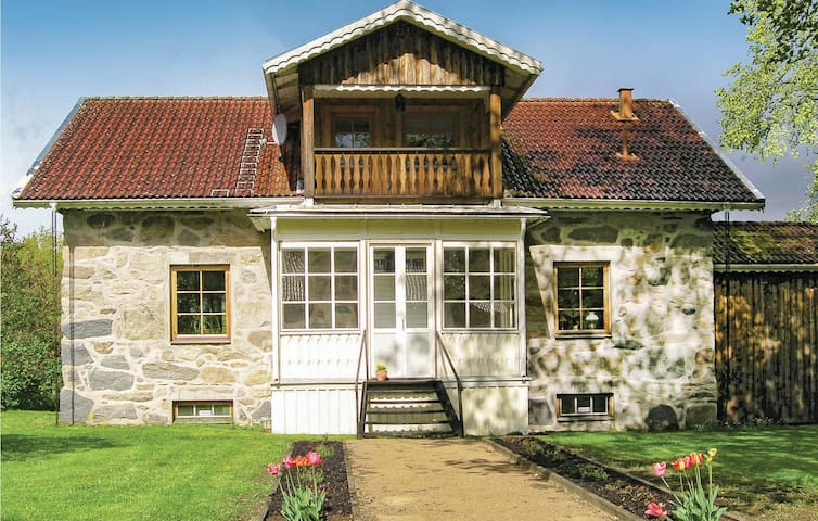 Holiday cottage with 4 bedrooms on 162 m² in Agunnaryd