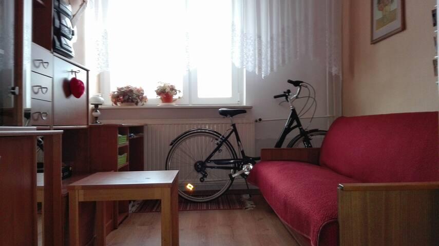 pokój dla jednej osoby/nice rooom for one person - Bydgoszcz - Appartement