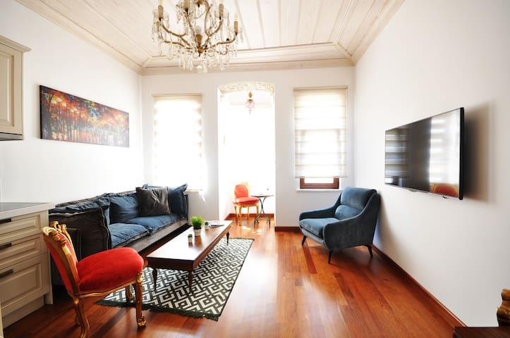 BALAT CENTER  newly renovated historic apartment