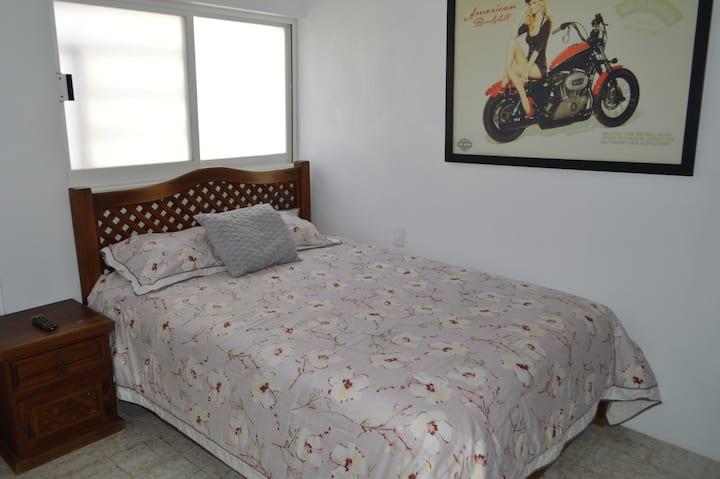 habitación privada Harley amueblado zona oriente