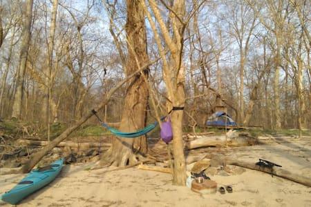 Spirit Island - Camping Platform- Haw River C & K - Graham