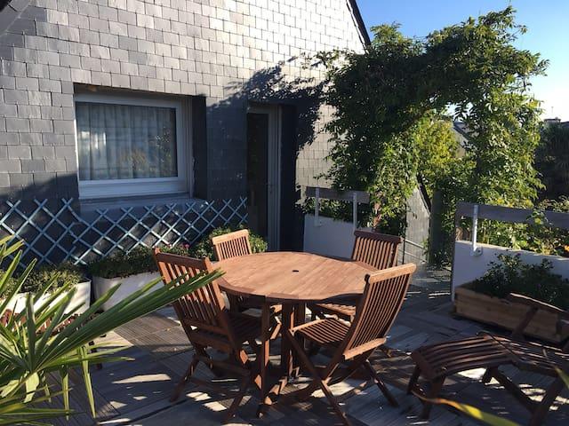 Appartement indépendant proche des plages - Larmor-Plage - Apartemen