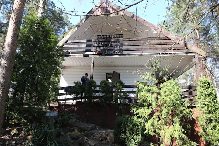 Komfortowy dom bezpośrednio przy jeziorze