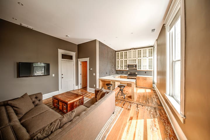 The Harkness Hotel: Copper Suite