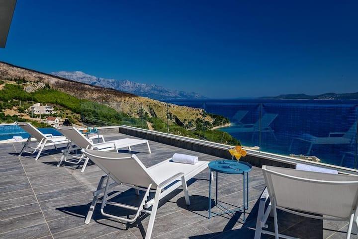 Villa Little Prince - amazing sea and islands view