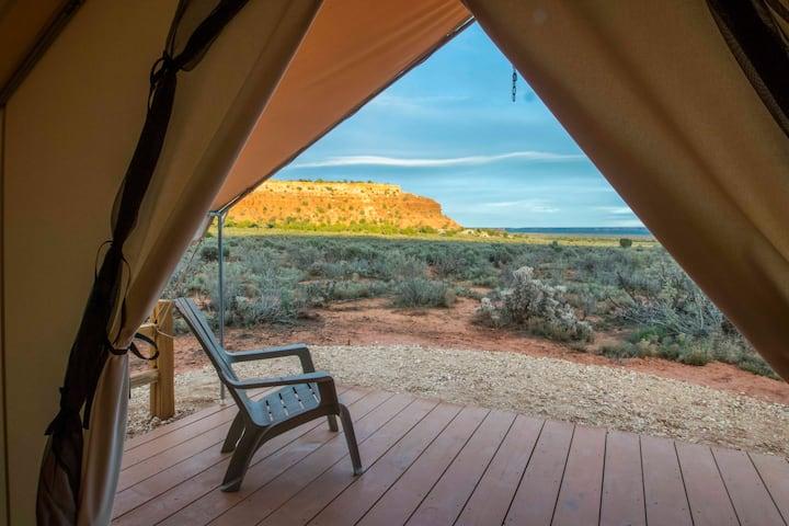 Glamping by Kanab! Escalante Tent at BaseCamp37°