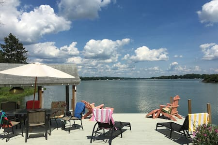 Buckeye Lake Prime Lakefront View Sleeps 6+ - Buckeye Lake