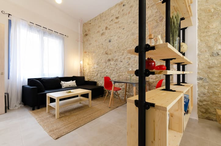 Central lovely home - Iraklio - Apartamento