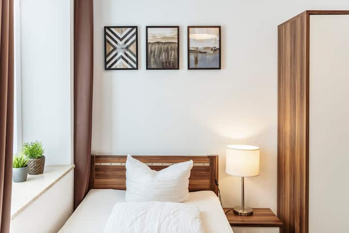 Apartment im greenpartment free sky + wifi