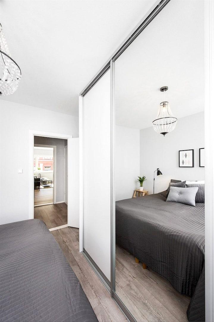 Nowoczesne mieszkanie - klimatyczne i przytulnne