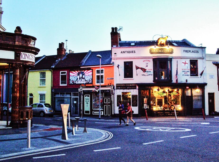Local quirky independent shops