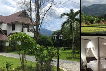 Large Villa, Mountain Views, Nature, Local Culture - Mae Rim