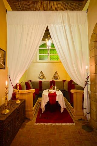 Rez-de-Chaussée - Salon marocain