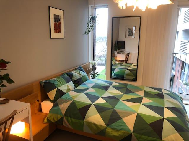 Lake view bedroom in Zone 2