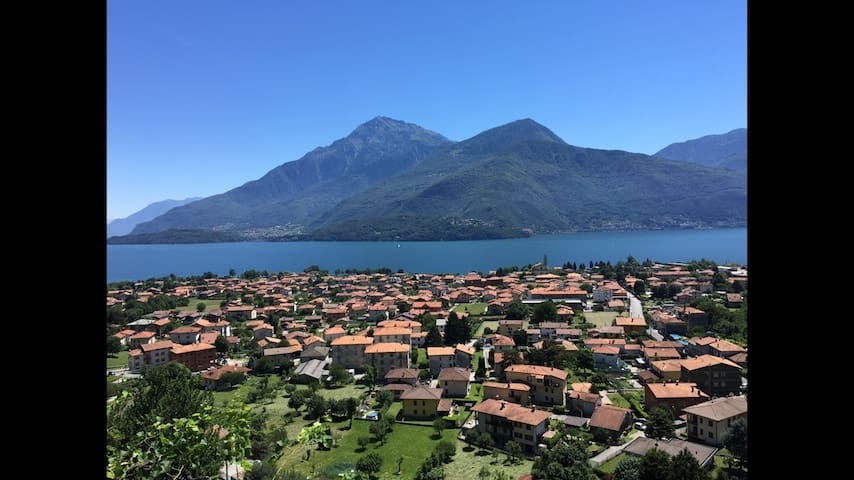 """""""NEW""""  Como Lake  Amazing View - Cottage in Dongo"""