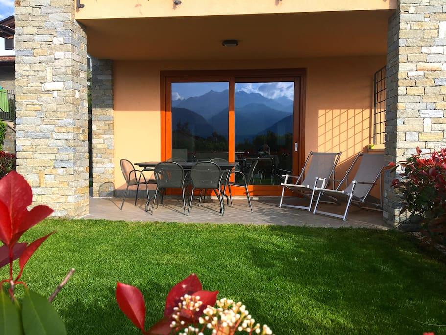 Casa Barbarossa patio