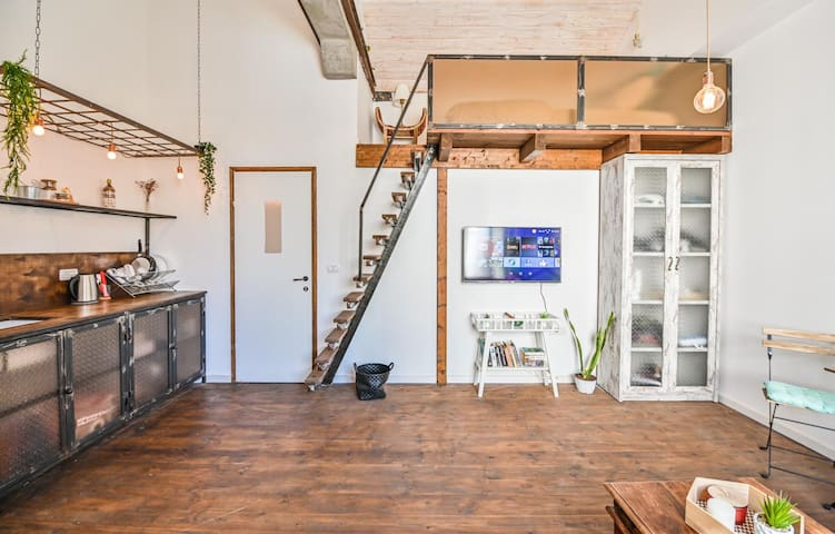 ⭐️ Stylish Loft in the Heart of Tel Aviv ⭐️