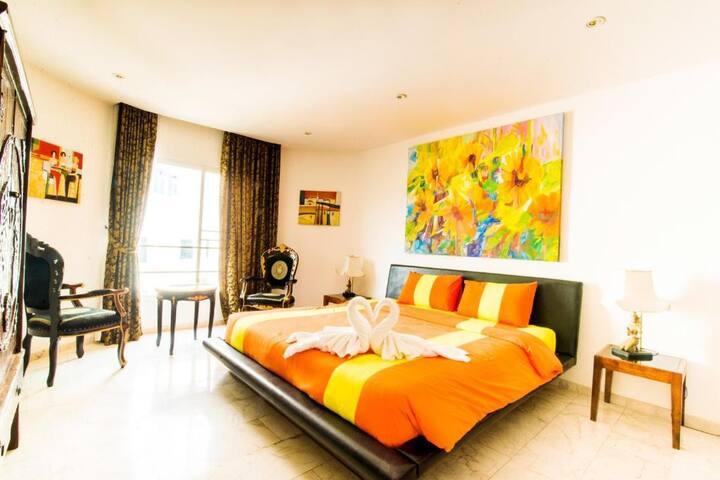 Modern Mosaik Suite at Mosaik Apartment
